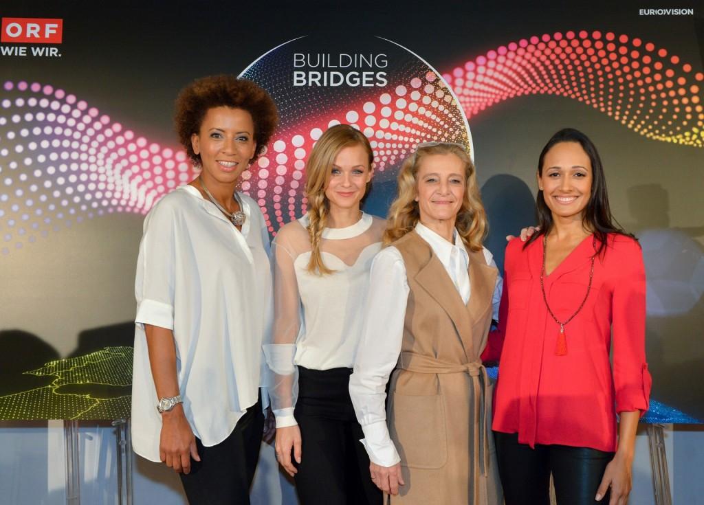 Sleva na desno:  Arabela, Mirjam, Katrin i Alis