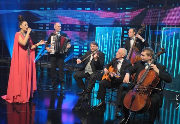 Sa snimanja emisije Pesma za Evropu