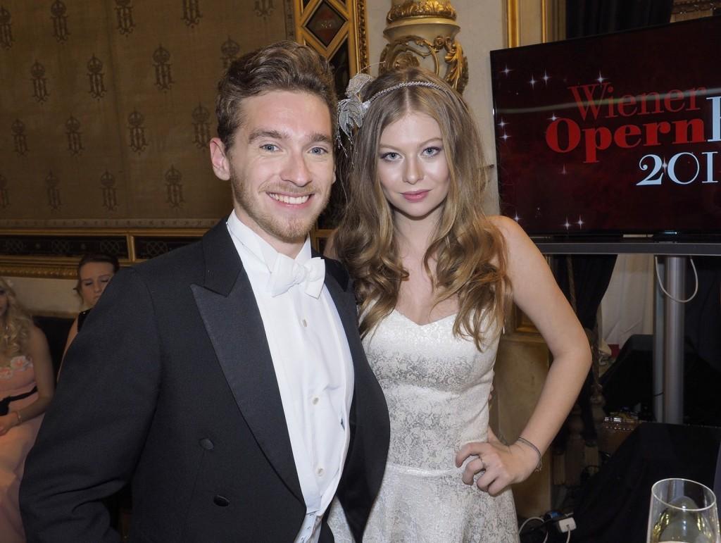 Nejtan i Zoi na Opernbalu (Foto: ORF/Roman Zach-Kiesling)