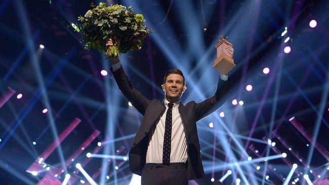 Predstavnik Švedske Robin Bengtsson. Foto: SVT (Stina Stjernkvist)