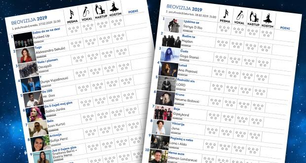 Beovizija2019_polufinale_listici