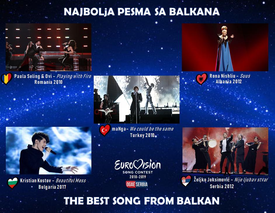 Najbolja pesma sa Balkana