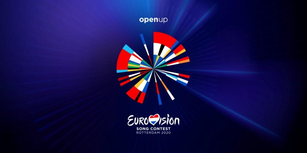 Logo Pesme Evrovizije 2020 i slogan Open Up