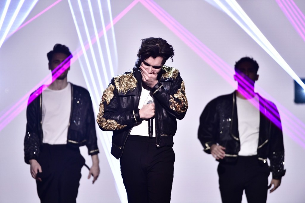 Foto: Stina Stjernkvist / Sveriges Television / Melodifestivalen 2021