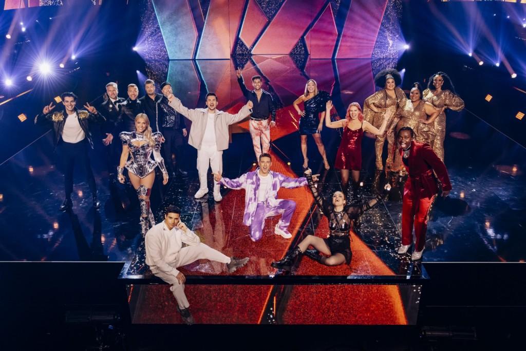 Finalisti Melodifestivalena 2021 (Foto: SVT / Stina Stjernkvist)